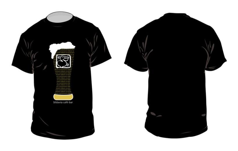1º premio concurso de camisetas bar Sildavia 2