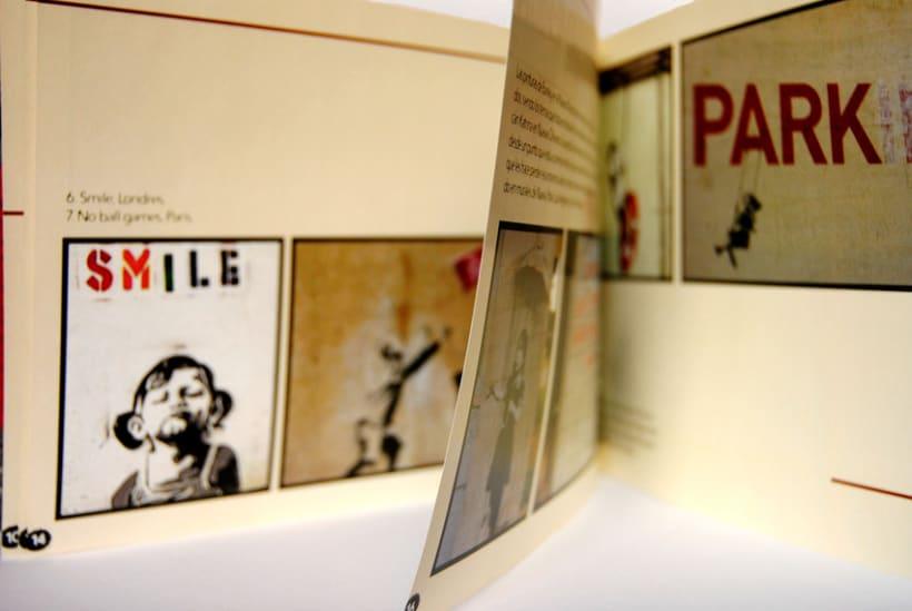 Diseño Editorial: Banksy 6