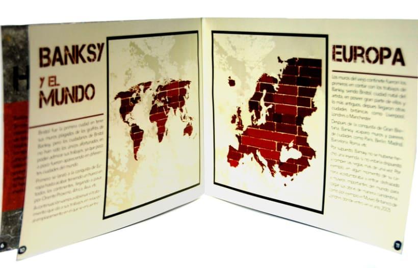 Diseño Editorial: Banksy 5