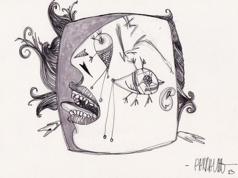 Tinta sobre papel 3