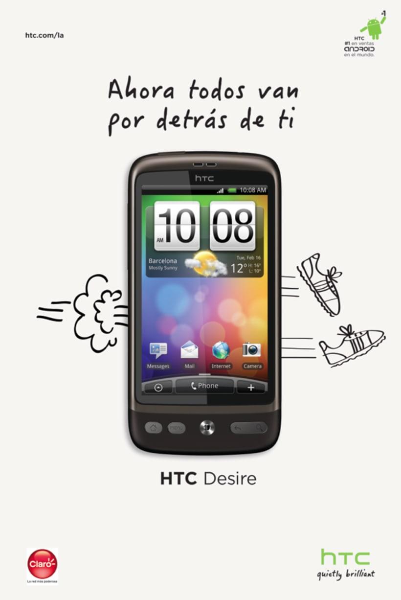 HTC lanzamiento Desire 1