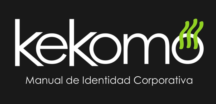 kekomo, manual de identidad corporativa 1