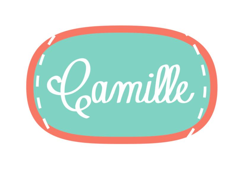 Camille, logotipo 2