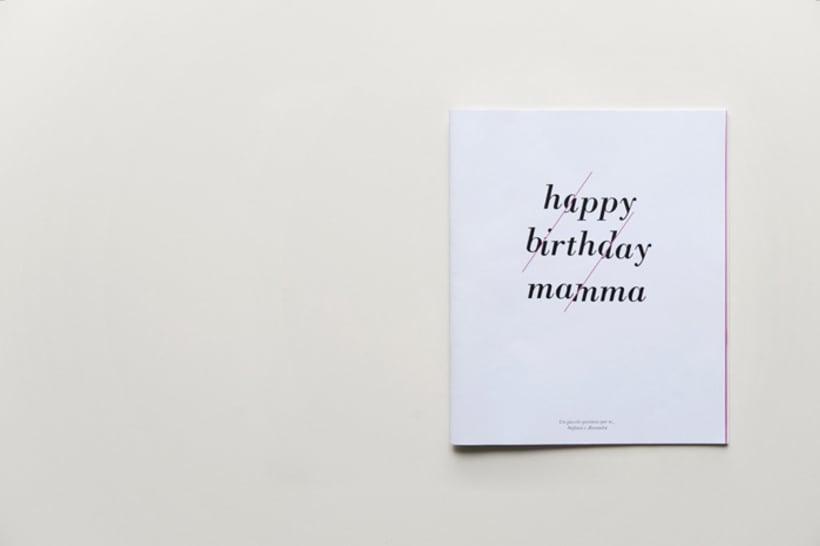 Happy birthday mamma  1