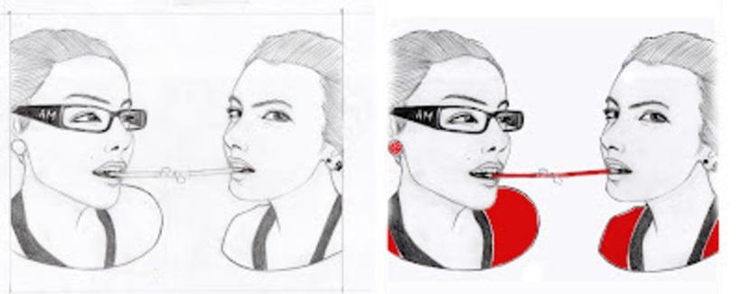 Retratos en lámina 4