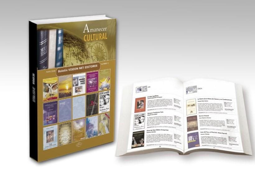 Catálogo editorial Visionnet 1