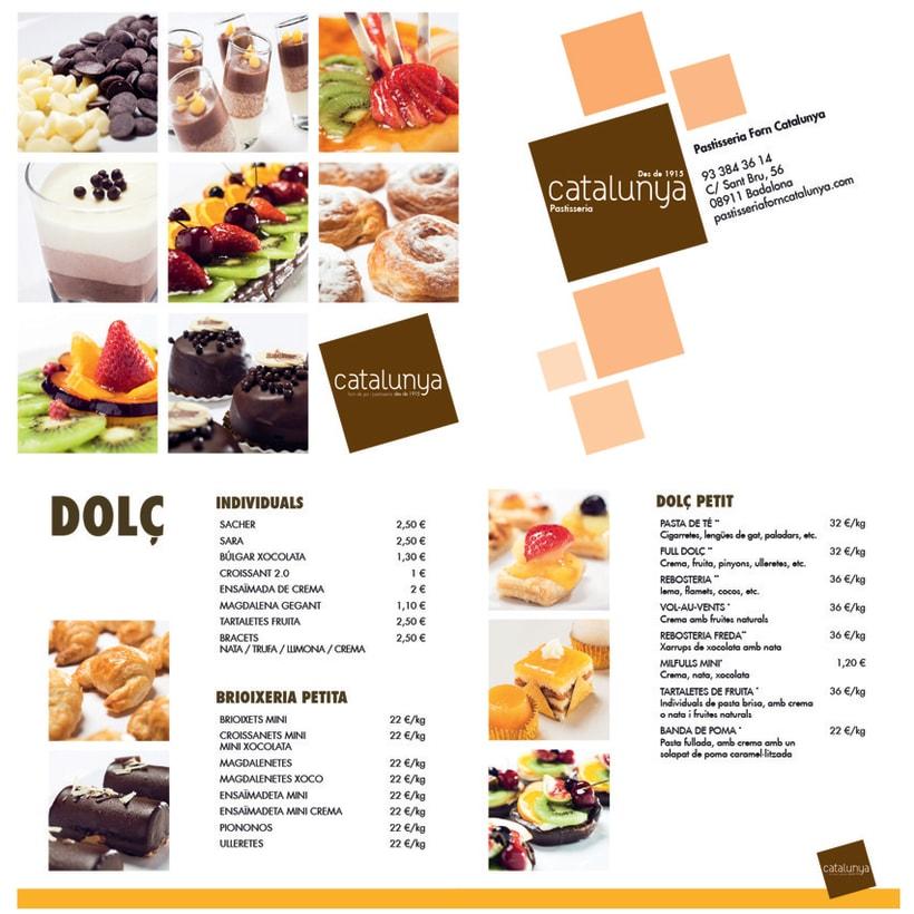 Catálogo Pastisseria Forn Catalunya 1