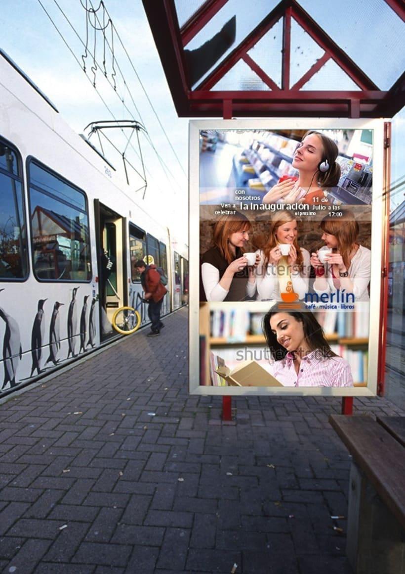 Merlín - Café, Música y Libros 24