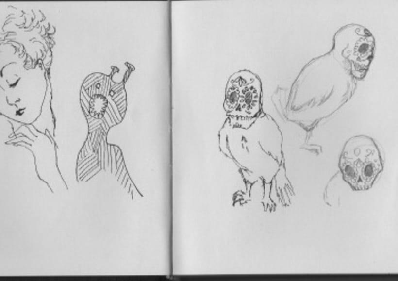 Bocetos y cuadernos de viaje 8