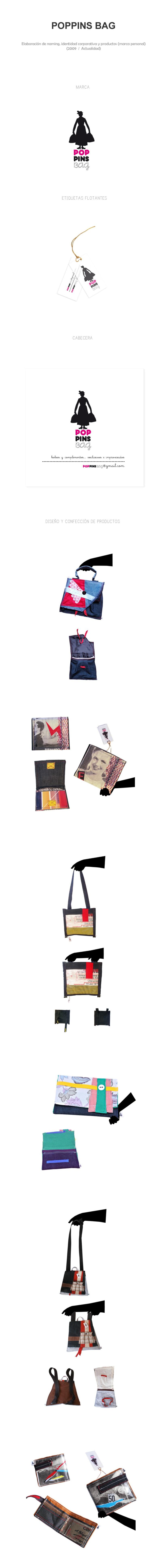 """""""Poppins Bag"""" Diseño de marca y producto 1"""