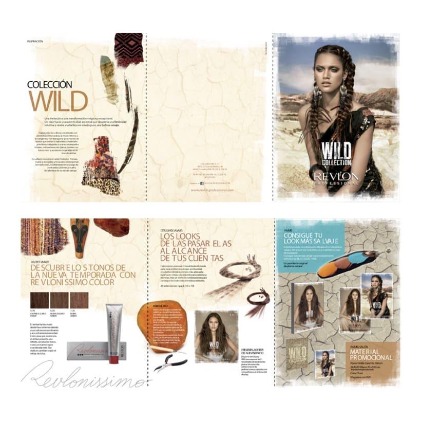 'Revlon' fotografias de la colección WILD para The Colomer Group. Photography for the 'WILD Collection' for the Colomer Group. 4