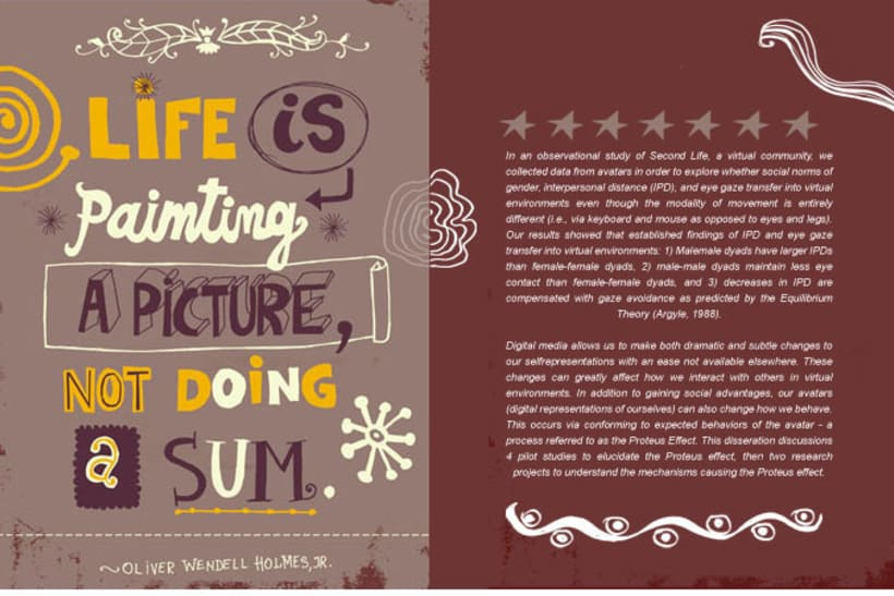 Life - Lettering 1