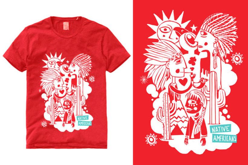 native american t-shirt 2