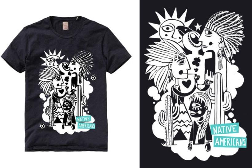 native american t-shirt 1