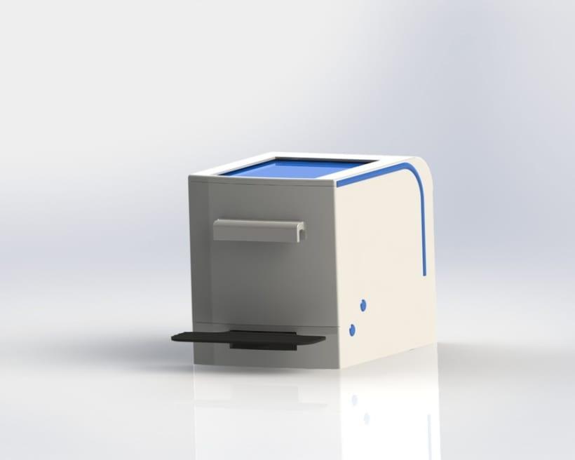 Cubo de basura de reciclaje modular 5