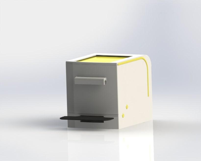 Cubo de basura de reciclaje modular 3