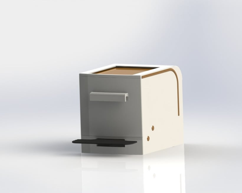 Cubo de basura de reciclaje modular 2
