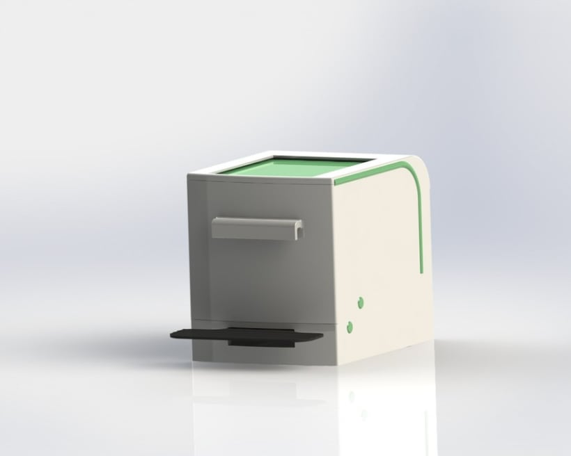 Cubo de basura de reciclaje modular 1