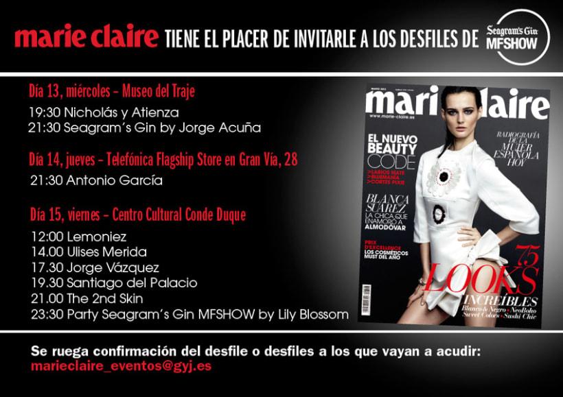Marie Claire en Madrid Fashion Show 9