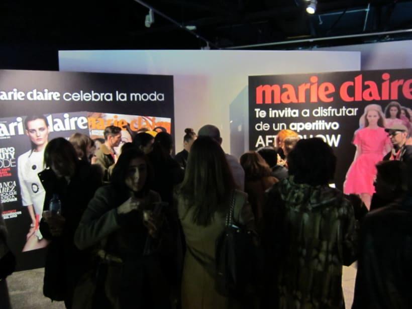 Marie Claire en Madrid Fashion Show 8
