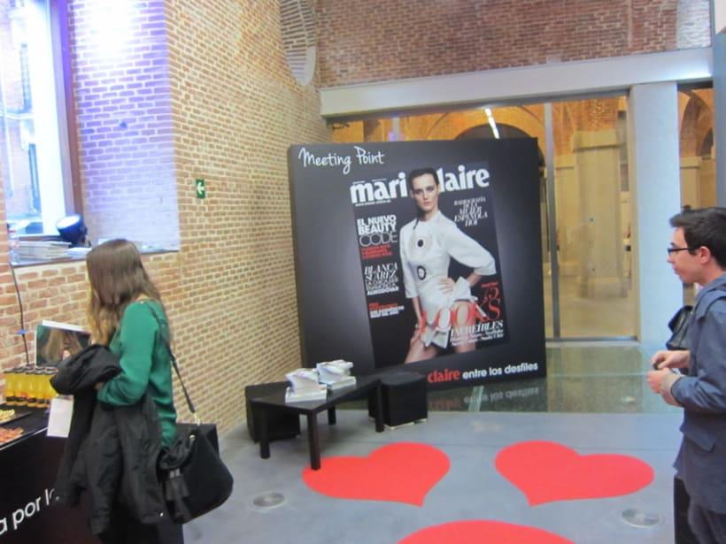 Marie Claire en Madrid Fashion Show 7