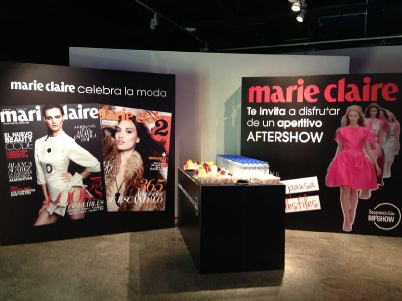 Marie Claire en Madrid Fashion Show 4