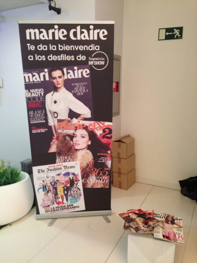 Marie Claire en Madrid Fashion Show 3