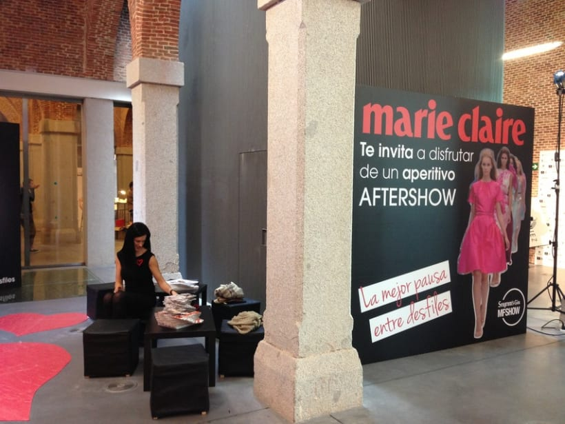 Marie Claire en Madrid Fashion Show 2