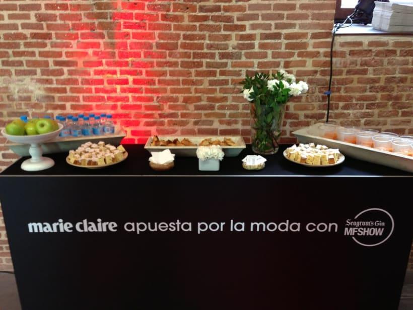 Marie Claire en Madrid Fashion Show 1