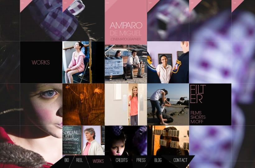 Diseño WEB Amparo de Miguel Cinematographer 1