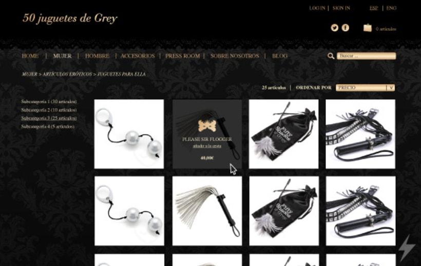 50 Juguetes de Grey | Tienda online 5