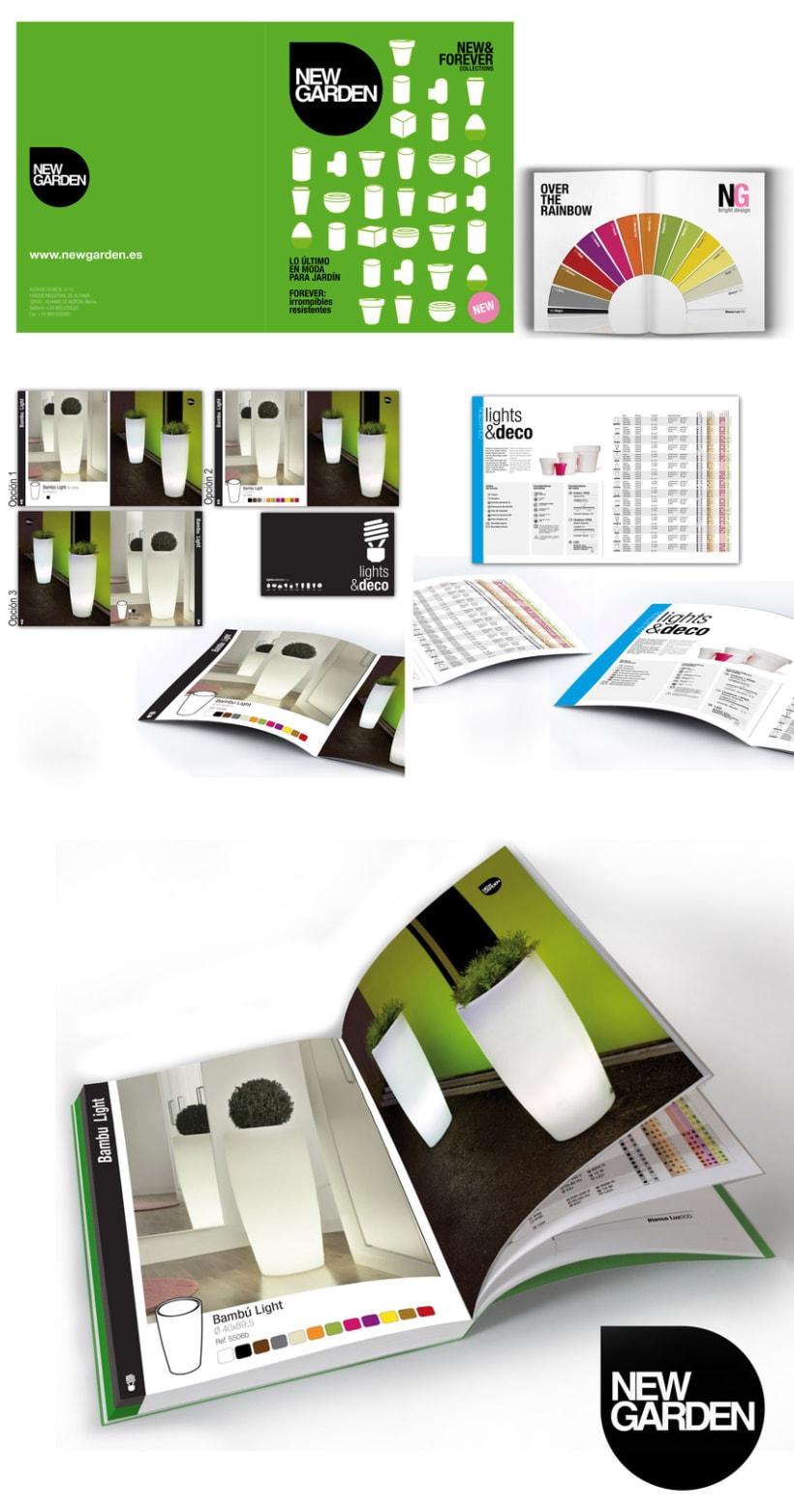 NewGarden creación de Catálogo 1