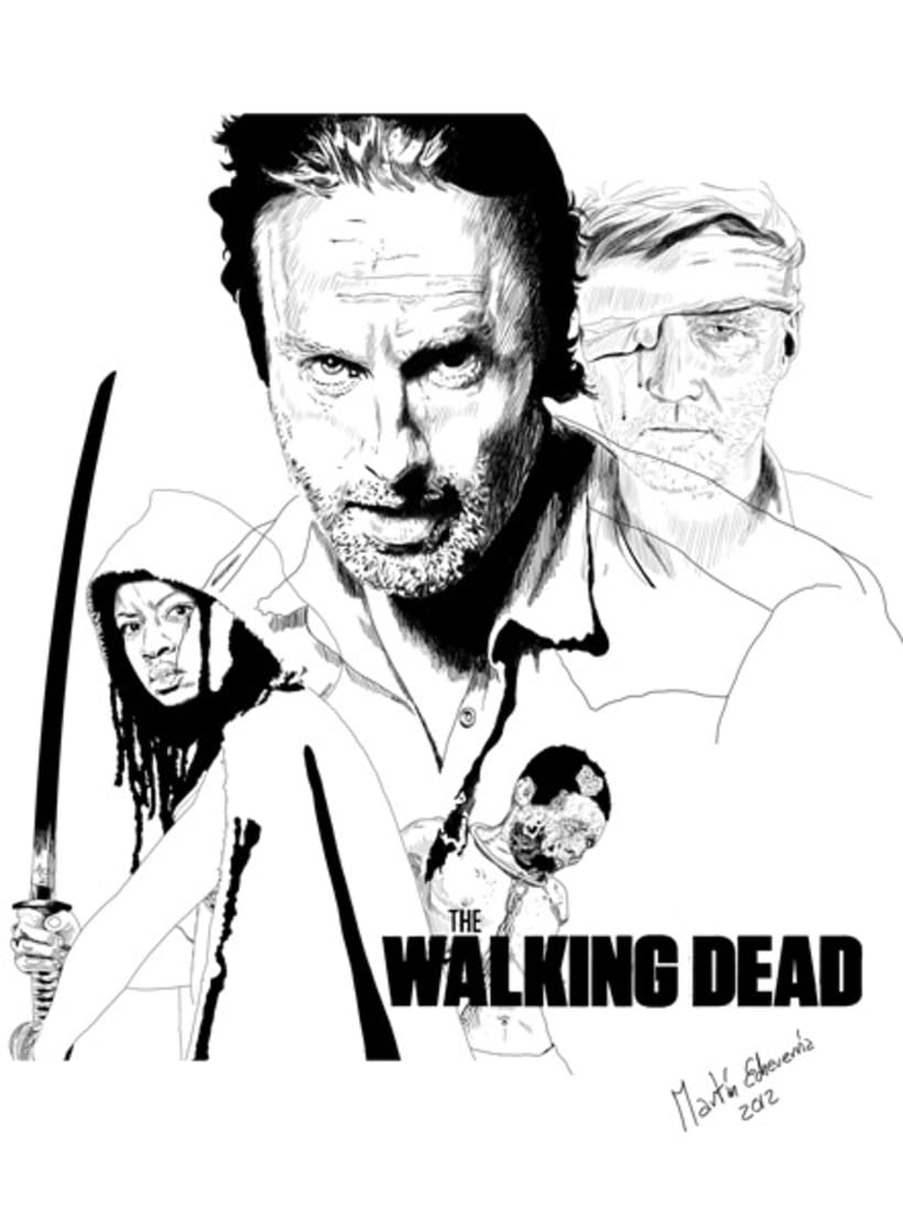The Walking Dead Cover 4