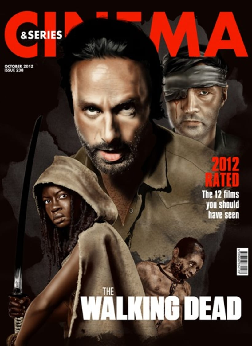 The Walking Dead Cover 1