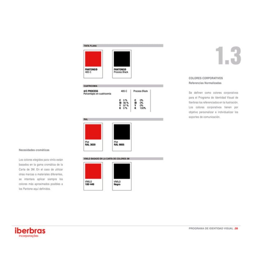 Imagen Corporativa sencilla para Iberbras Incorporações 2