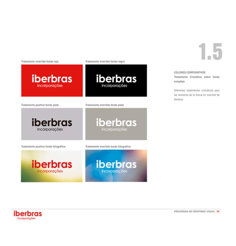 Imagen Corporativa sencilla para Iberbras Incorporações 3