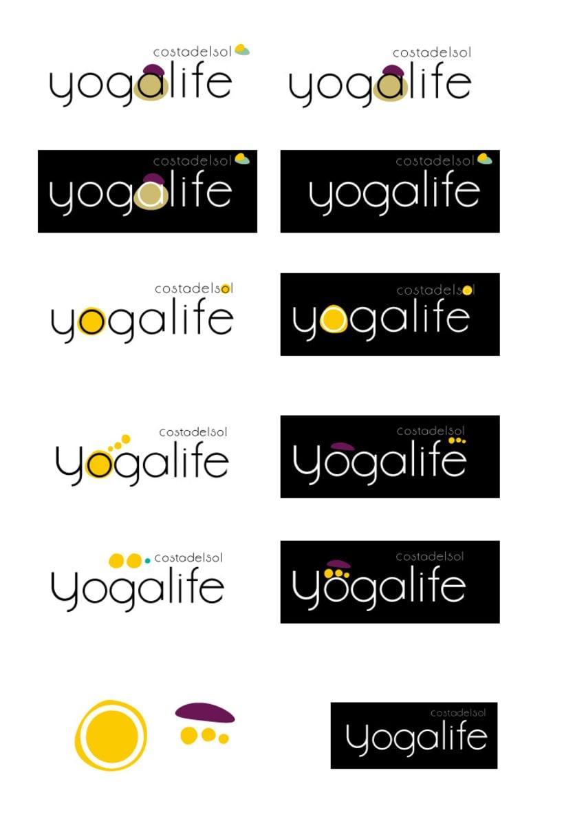 Logotipo YOGALIFE COSTA DEL SOL 0
