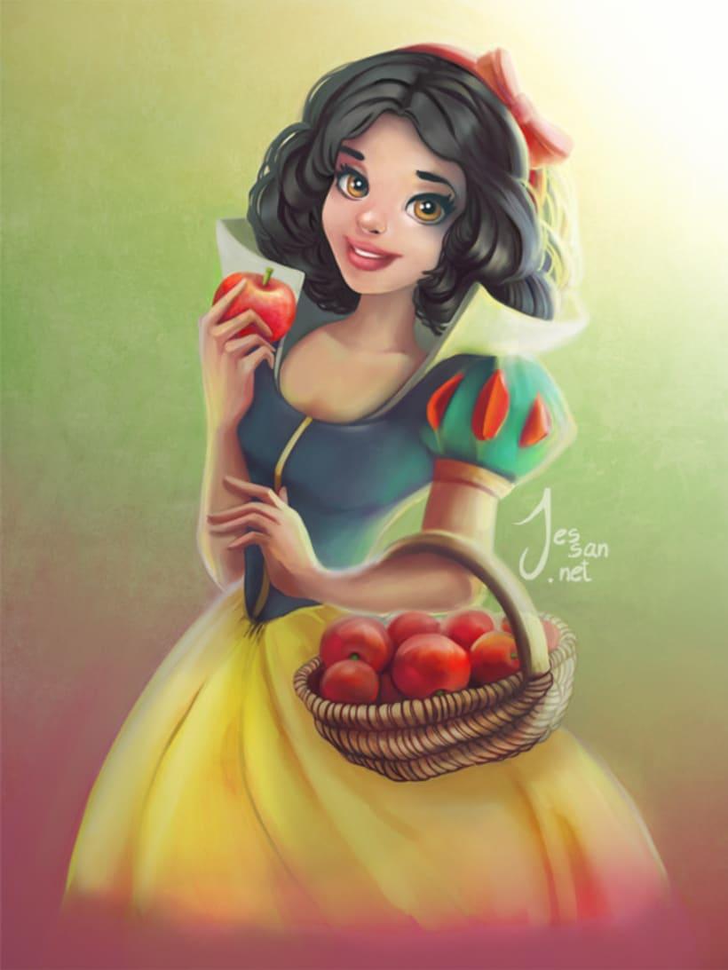 Princesas Disney Fan Art 2