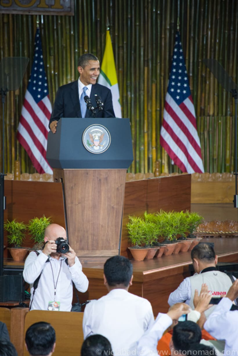 Obama at Yangon 3