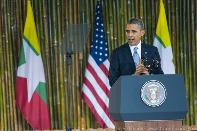 Obama at Yangon 2