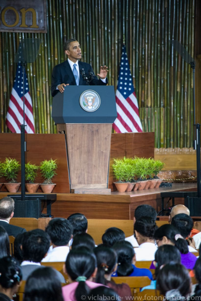 Obama at Yangon 1
