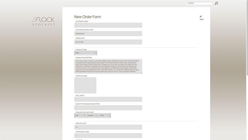 Sitio Web Flock Natural Luxury 3