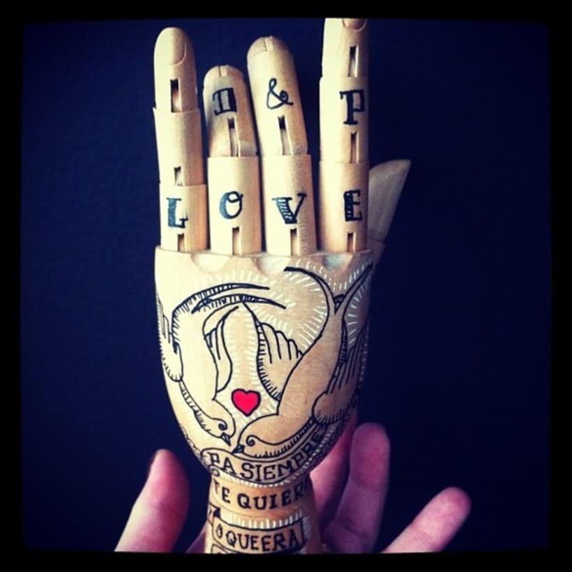 Wood Hand 2