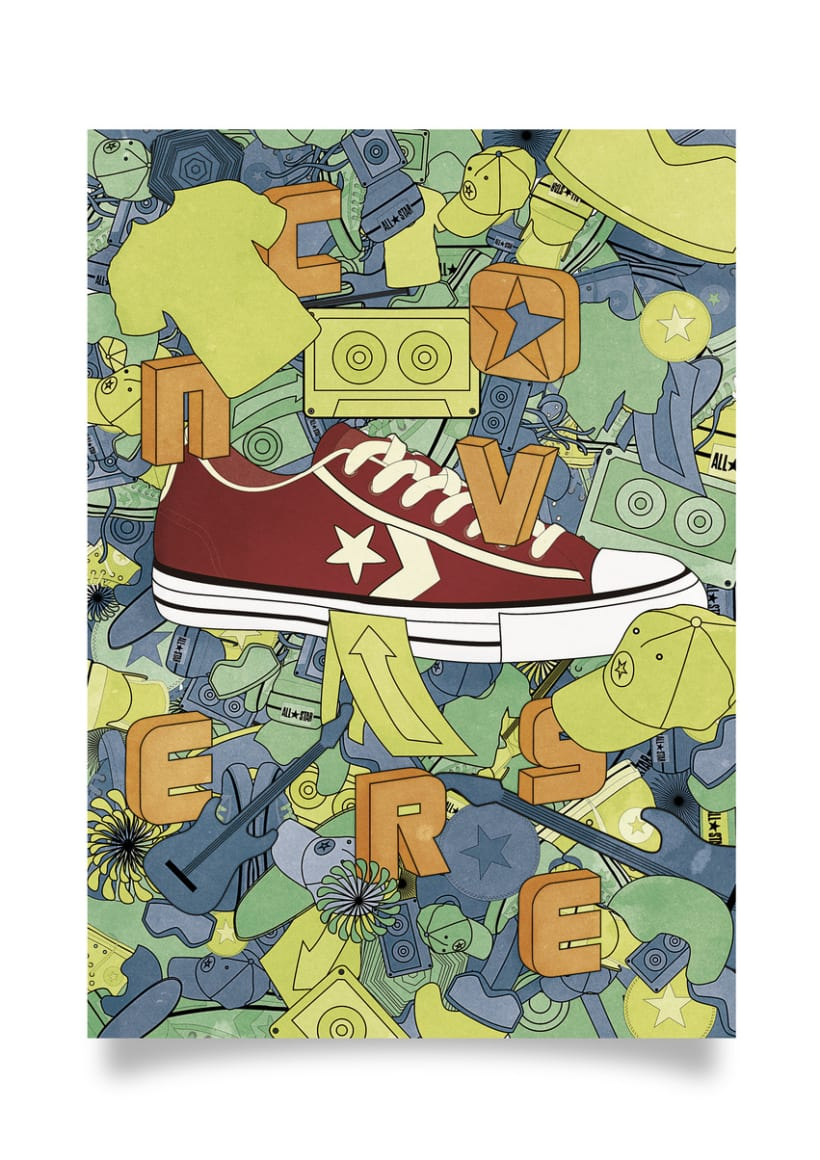 Advertising Campaign - Converse poster design 3