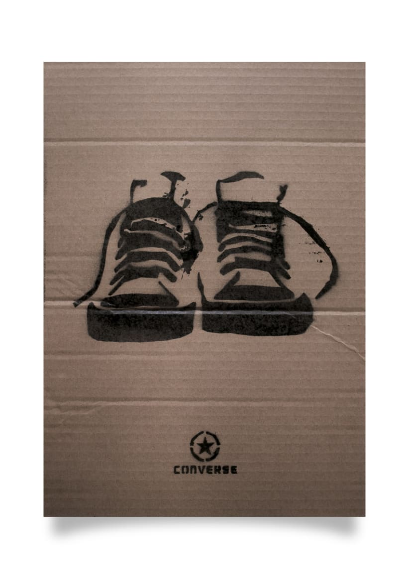 Advertising Campaign - Converse poster design 4