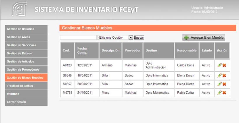 Sistema de Inventario FCEyT 1