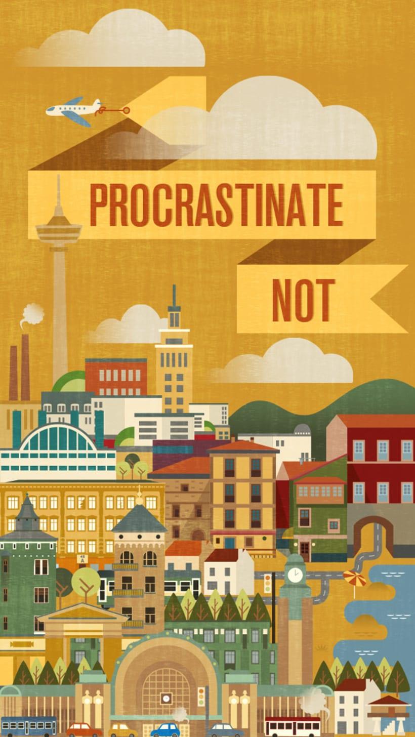 Nada de procrastinar! 1