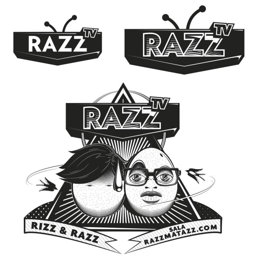 RazzTV - Illustrations & lettering 2