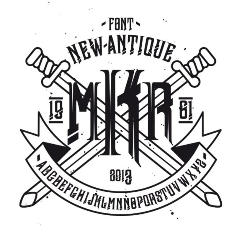 Typography - newAntique 1
