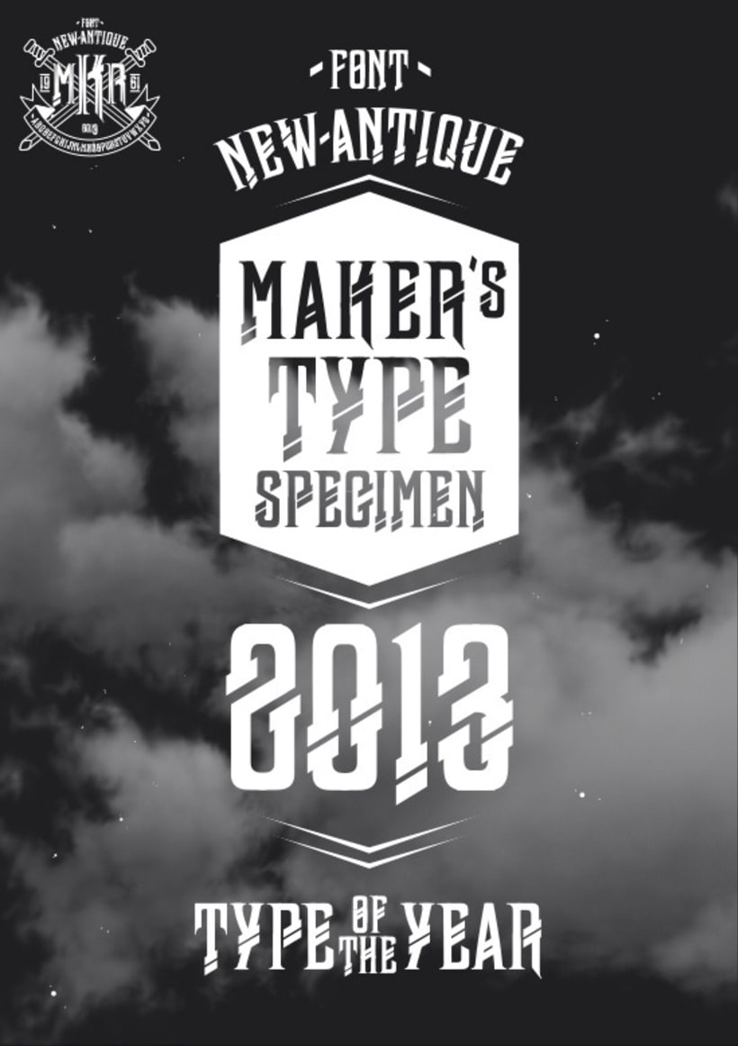 Typography - newAntique 2